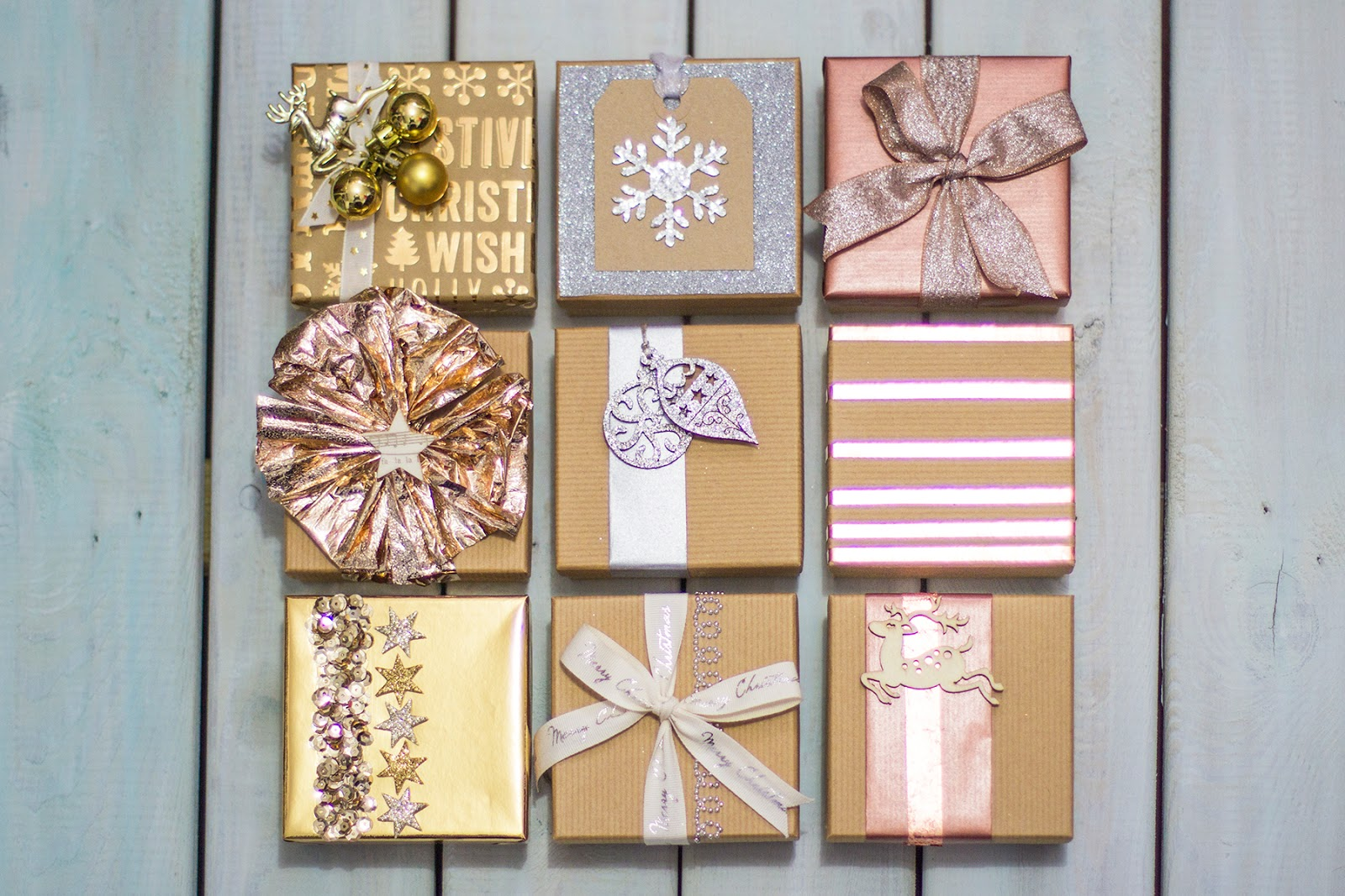 Live it . Love it . Make it.: Gift Wrapped 3 ways