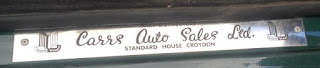 Carrs Auto Sales sill plate version 2