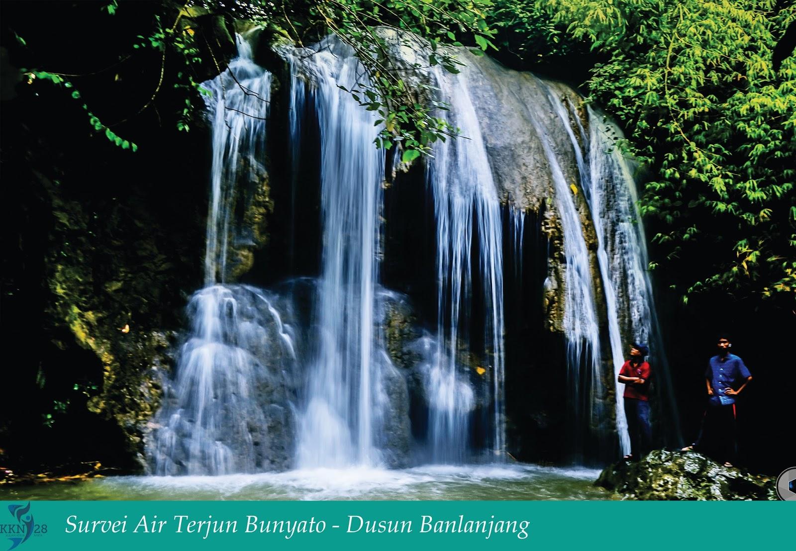 Wisata Air Terjun Bunyato (Pengantin Waterfall)