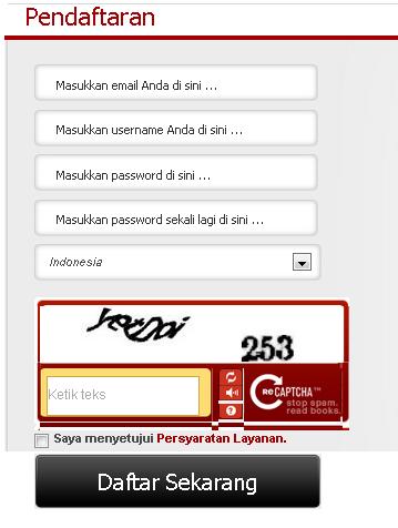 gambar cara daftar fifa online 3 server indonesia