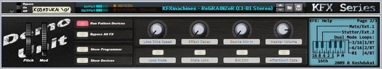 KFXmachines ReGRAINZeR V.0.6.2beta DEMO