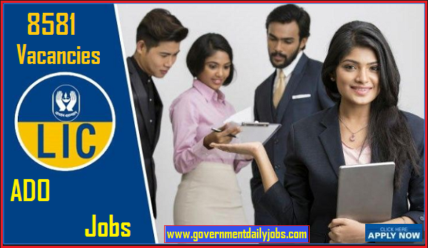 LIC Recruitment 2019 for 8581 Apprentice Development Officers Job