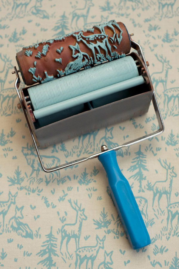 Create Your Wall With Patterned Paint Roller Sufentan Com