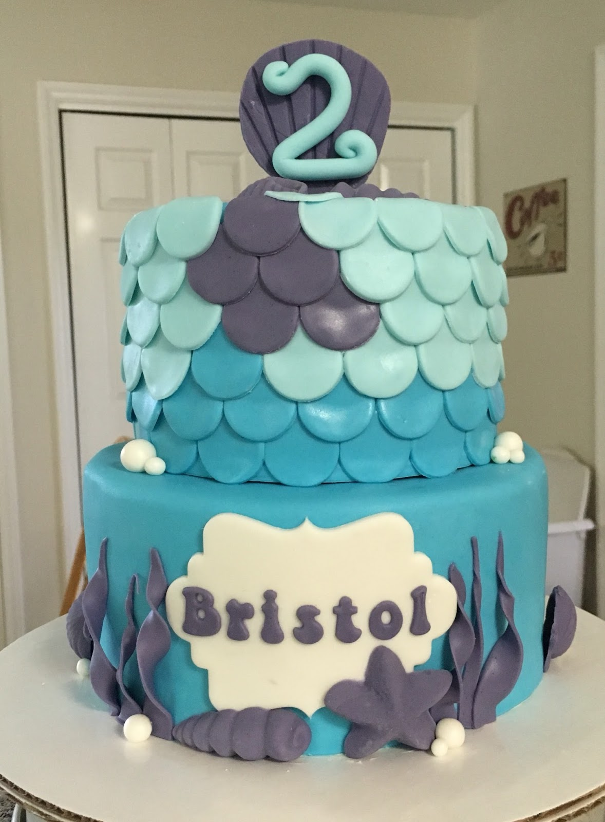 Cakes By Becky Under The Sea Birthday
