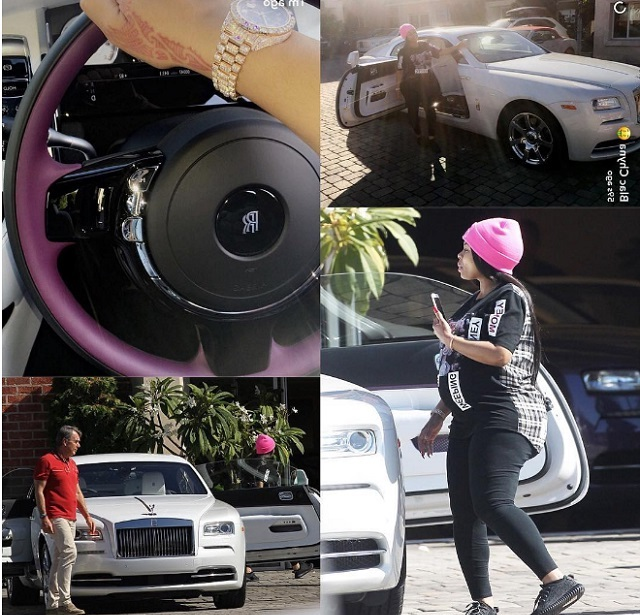 kanyi okeke: pregnant blac chyna pampers herself to a brand new $400