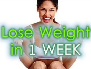 Lose Weight Within a Week