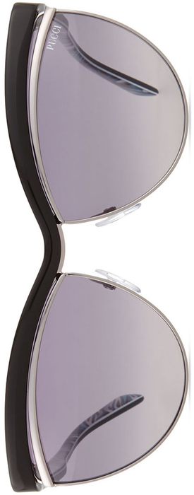 Emilio Pucci Flared-Brow Cat-Eye Sunglasses
