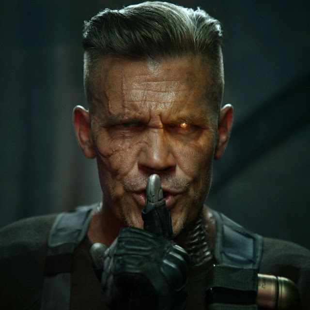 Revelado o visual de Josh Brolin como Cable em Deadpool 2