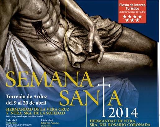 Procesiones de Semana Santa 2014 en Torrejón de Ardoz