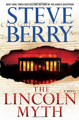 The Lincoln Myth by Steve Berry – book cover