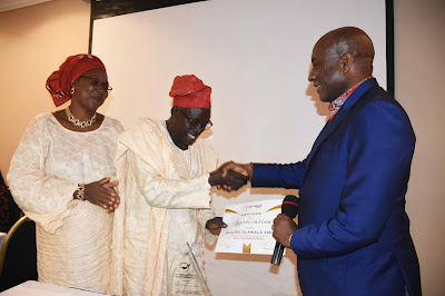 Onyema Tasks Aviation Staff On Integrity As Air Peace Honours Pioneer Manager