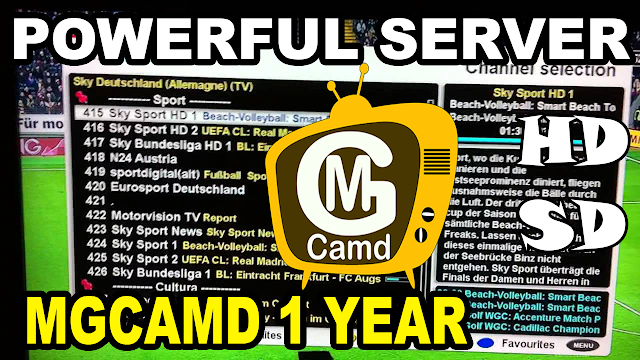 1 Year MGCAMD SERVER and How To Create Your Own MGCAMD Line