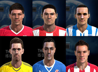 Mix Facepack Europe V6 PES 2013