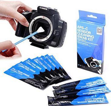 Peralatan untuk memberishkan sensor kamera