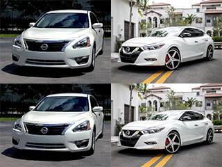 While The Maxima Models Are S, SV, SL, SR, SR Midnight Edition, And  Platinum. So Hereu0027s The 2018 Nissan Altima Vs Maxima.
