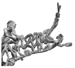 Seni Kerajinan Patung dan Bentuk Rumah Adat Masyarakat Suku Asmat-Dani