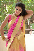 pavani new photos in saree-thumbnail-7
