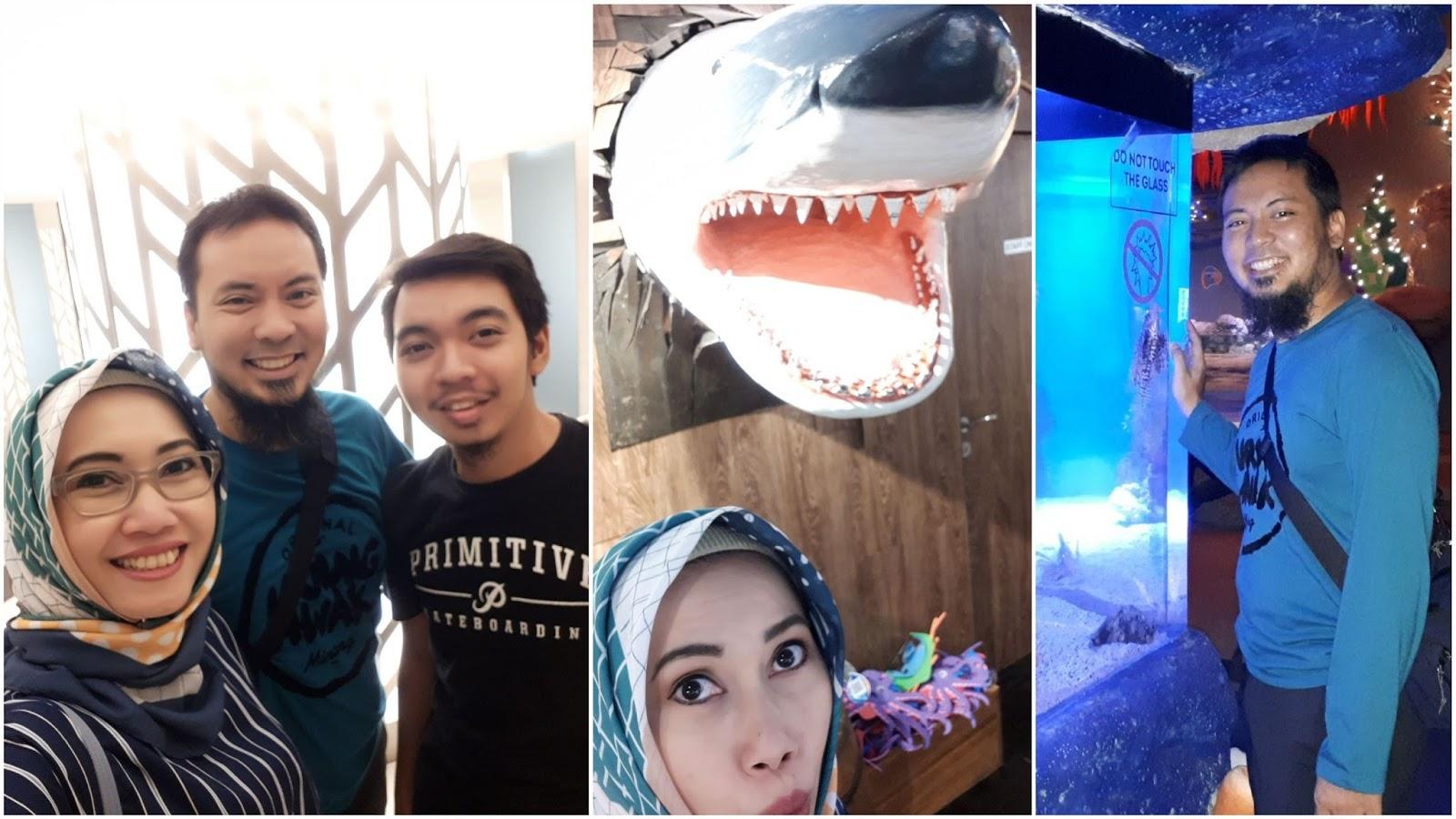 Berkunjung Ke Jakarta Aquarium The Traveling Cow Et Ticket Reguler Weekday Muka Yang Abis Piknik