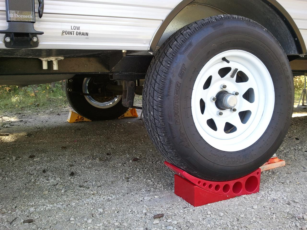 Travel Trailer Leveling Pads