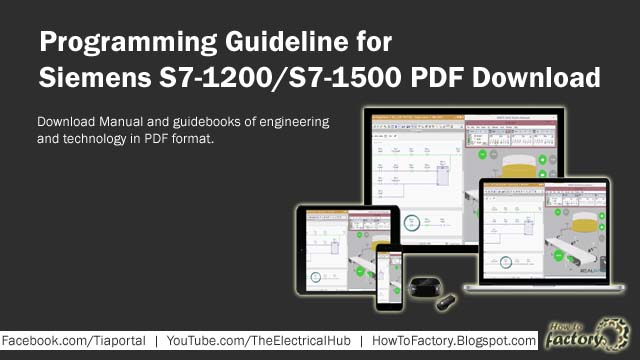 Programming Guideline for Siemens S7-1200/S7-1500 PDF Download