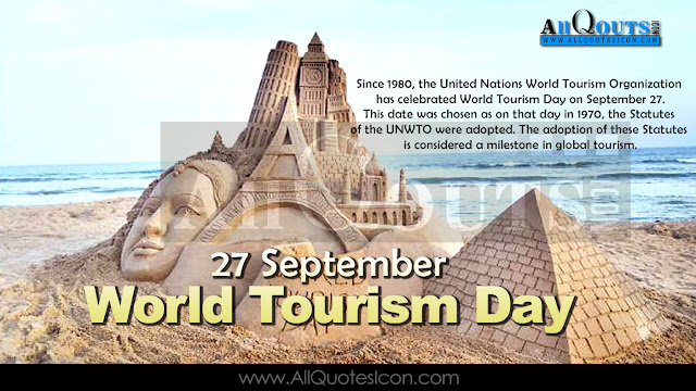 World Tourism Day, Special Days Wishes and Greetings, Wishes,Tourism Places, Information, Useful Tourism Places,Beautiful Tourism Locations