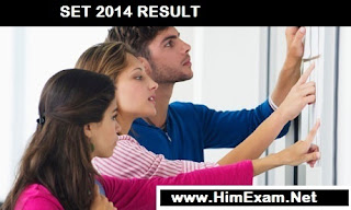 HPPSC SET 2014 Result Declared