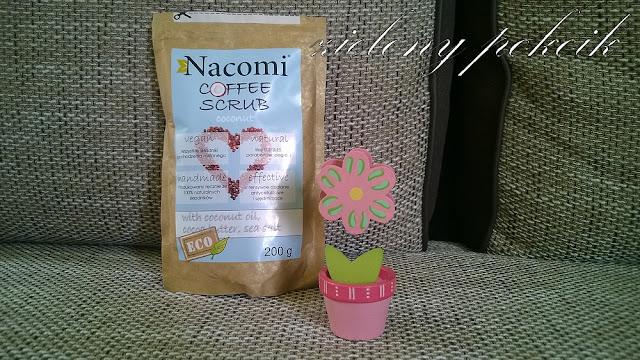 Kosmetycznie: Kawa o zapachu kokosa jako propozycja Nacomi na złuszczenie naskórka