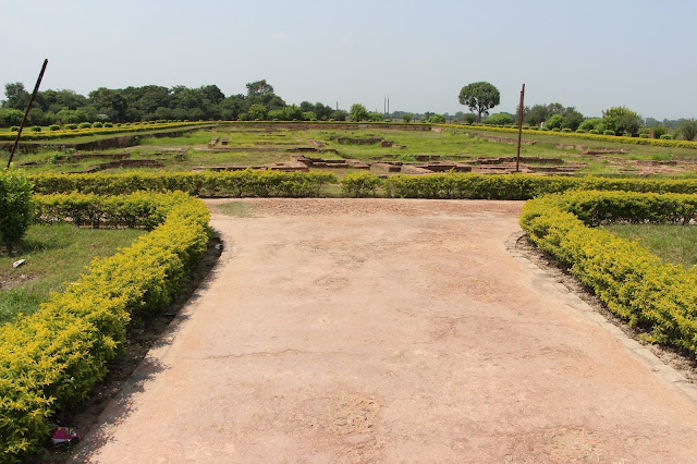 Ruins of the Fort of Lichhavi King Vishal (Raja Viahal Ka Garh) Vaishali  Bihar