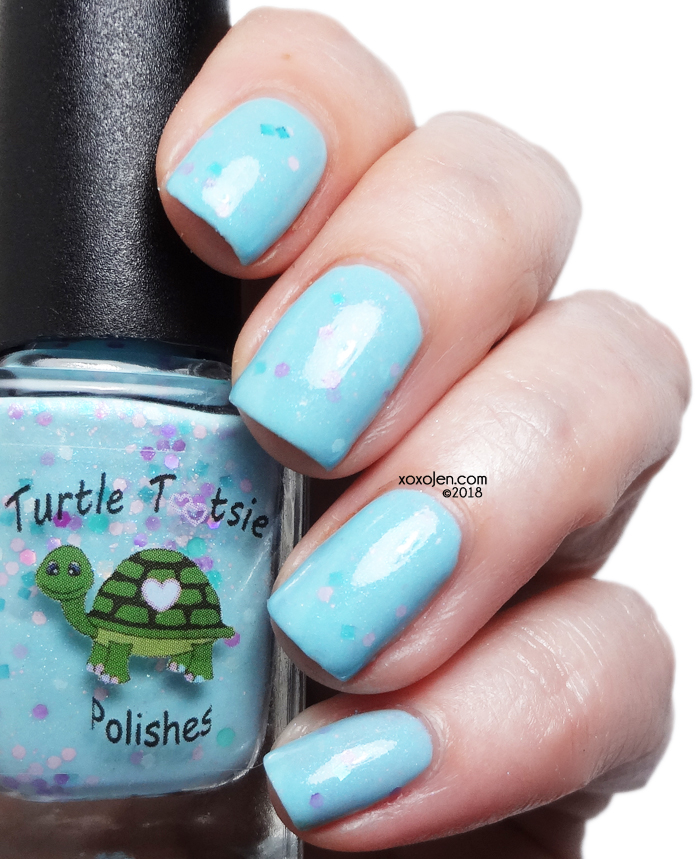 xoxoJen's swatch of Turtle Tootsie Seasick Crocodile