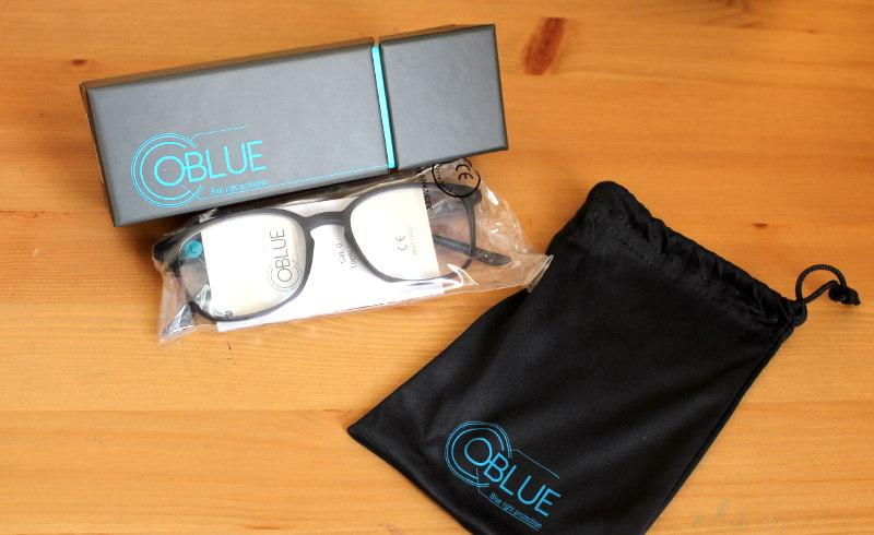 Lumière bleue - lunettes OBLUE