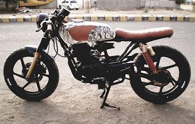 Bajaj Pulsar 180 Cafe Racer by Nilkantha Motorcycles