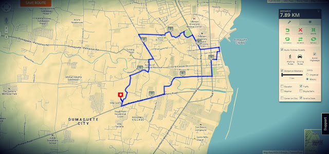 Adventure Walk in the City of Dumaguete