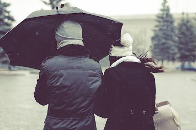 Paraguas compartido