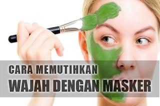 5 Cara Memutihkan Wajah Dengan Masker Alami