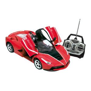Veículo de Controle Remoto Garagem S/A Illusion Vermelho Candide