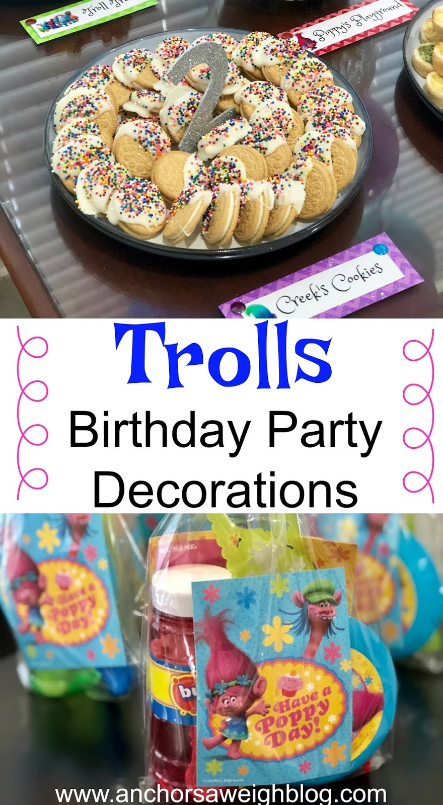 A Trolls Themed Birthday Party For My Favorite 2 Year Old