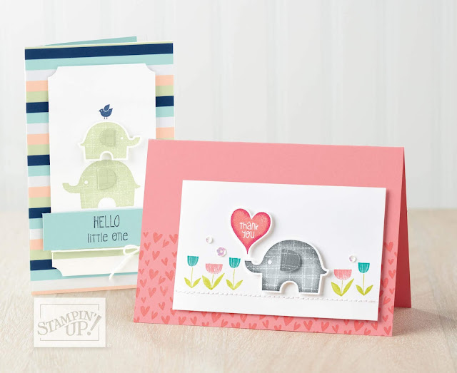 Little Elephant Bundle from Stampin' Up!