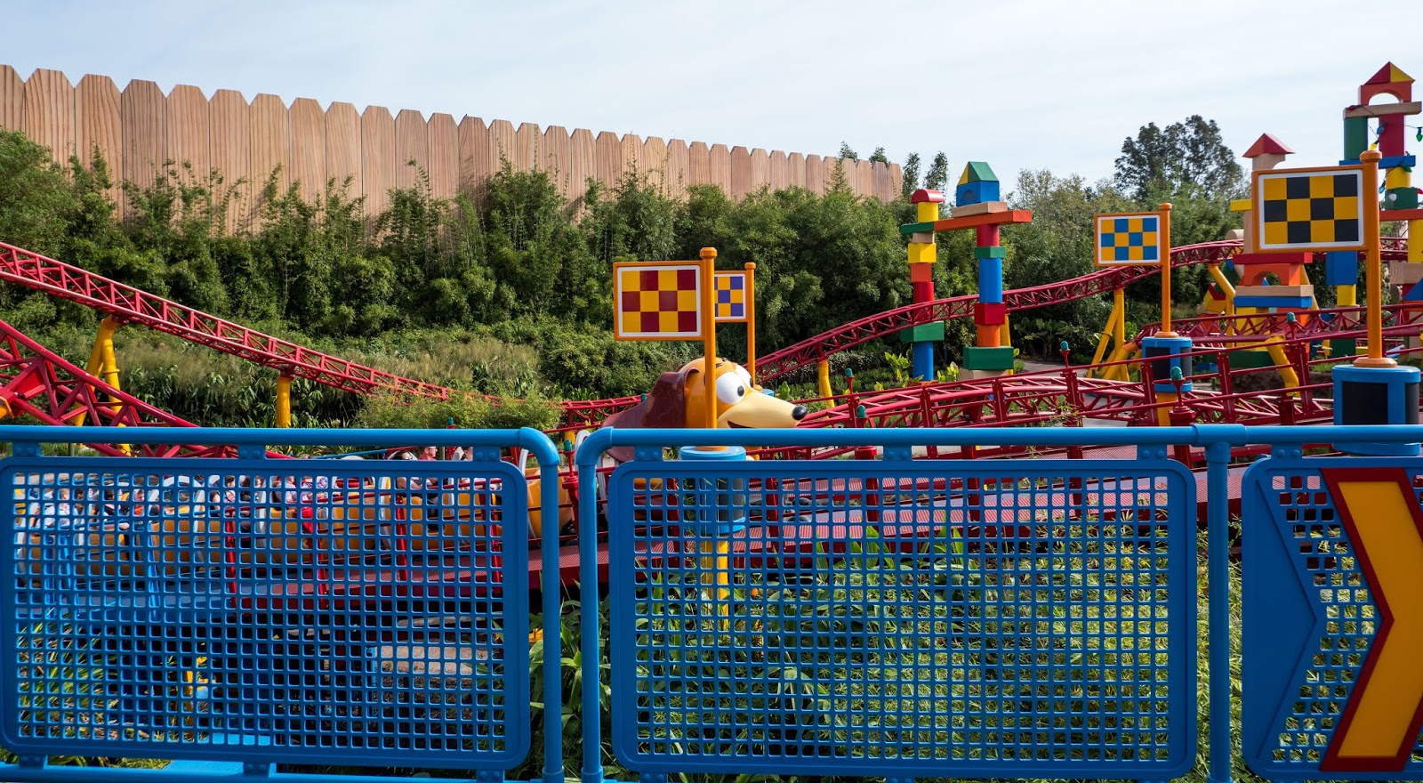 Slinky Dog Dash at Disney's Hollywood Studios, Walt Disney World