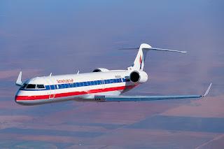 American Airlines Bombardier CRJ-700 regional jet
