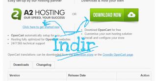 Ücretsiz Opencart ( E-Ticaret ) Sitesi Açmak 01