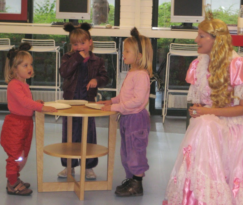 Eventyrprinsessen spiller Guldlok