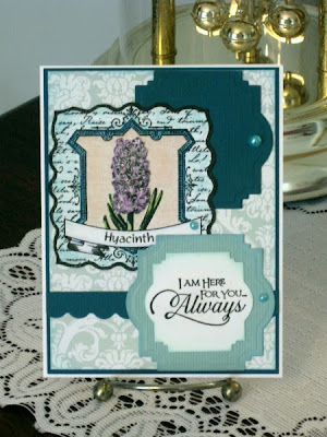 Our Daily Bread Designs, Hyacinth, Sentiment Collection 2