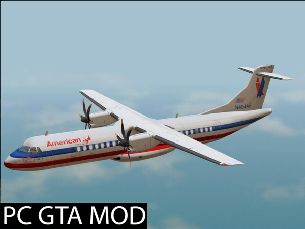 Free Download ATR 72–500 - Final updated  Mod for GTA San Andreas.