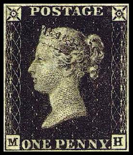 Penny_black-perangko-pertama