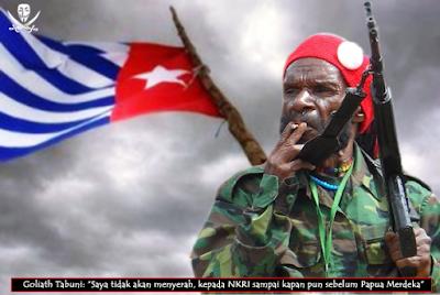 "Goliat Tabuni: ""Saya Tidak akan Pernah Menyerah Sebelum Papua Merdeka"""
