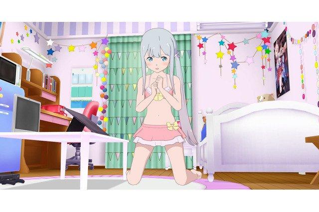 Sagiri de Eromanga-Sensei ganha roupas de banho no seu App de Realidade Virtual