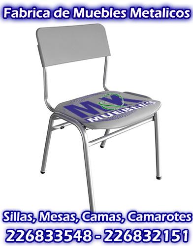 Sillas apilables para eventos casinos templos colegios for Fabrica de muebles metalicos