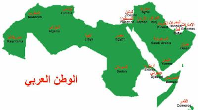 العالم العربي الممزق ...