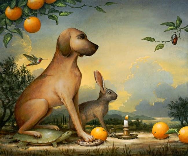 Paciência - Kevin Sloan e suas pinturas mágicas