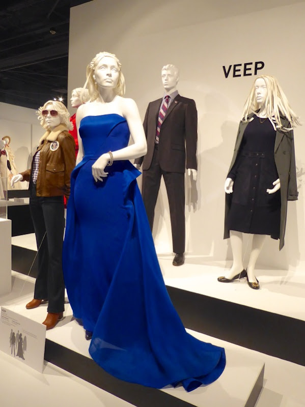 Veep season 5 costume exhibit